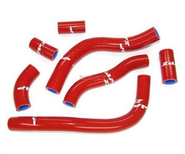 ZAP Kühlerschlauch-Set CRF 450 09-12, rot