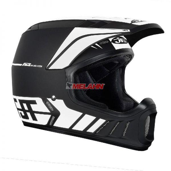 JT Helm: ALS-02, schwarz/weiß