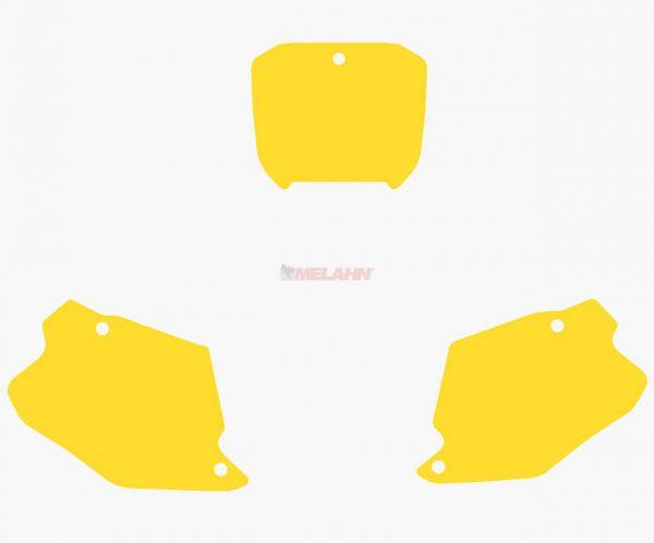 BLACKBIRD Startnummernuntergrund CR 125/250 00-01, gelb