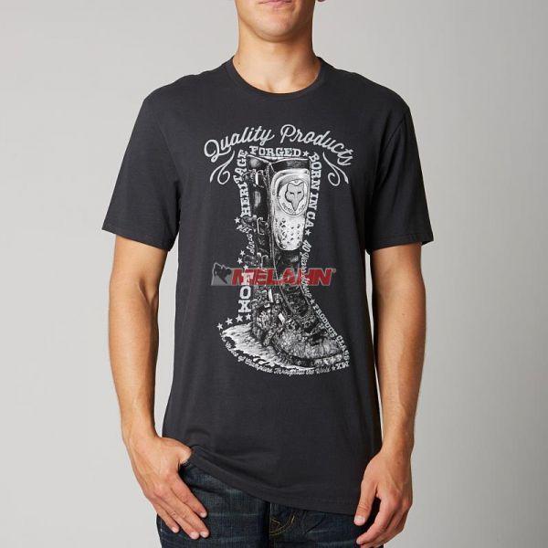 FOX Premium T-Shirt: Eureka, schwarz