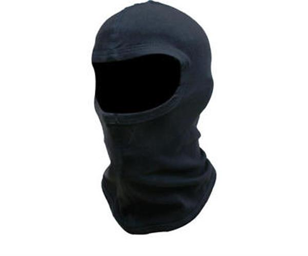 MOCO Sturmhaube Baumwolle, schwarz