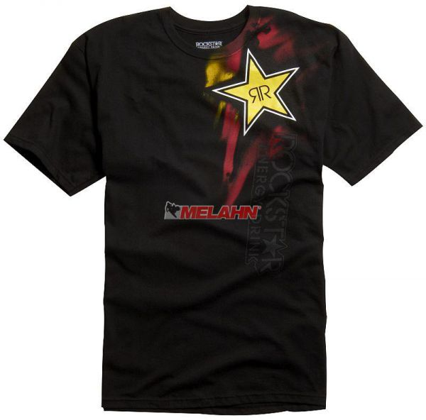FOX T-Shirt: Rockstar Faded, schwarz