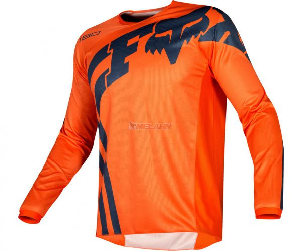 FOX Youth Jersey: 180 Cota, orange