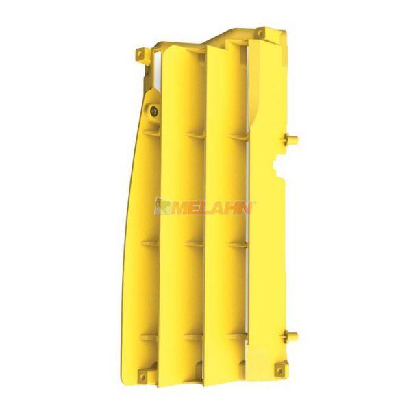 POLISPORT Kühlerschutz (Paar) RMZ 250 10-18, gelb