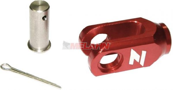 ZAP Aluminium-Einsteller Hinterradbremse KX/KXF 8mm, rot