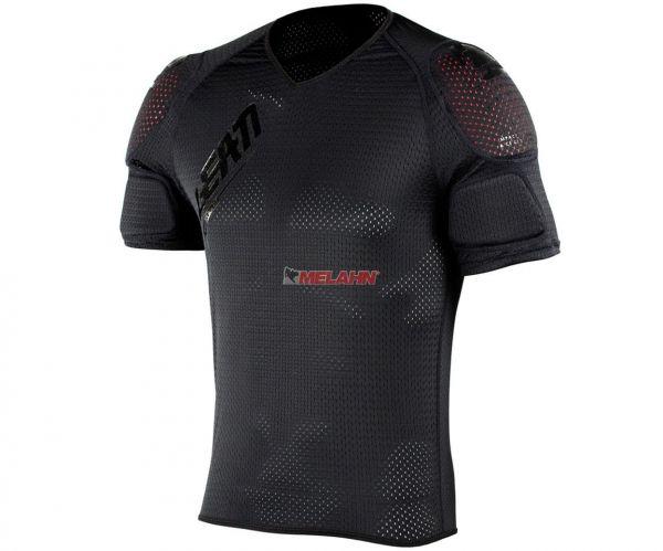 LEATT Protektoren-T-Shirt: Shoulder Tee 3DF AirFit Lite, schwarz