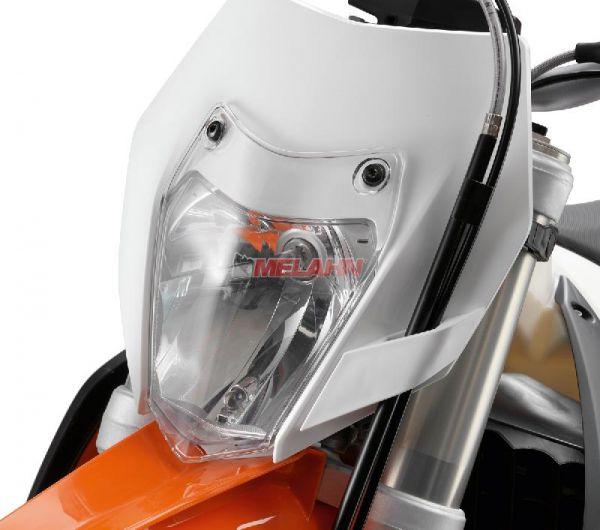 KTM Scheinwerferschutz EXC 14-, klar