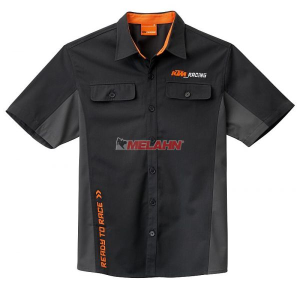 KTM Shirt: Mechanic, schwarz