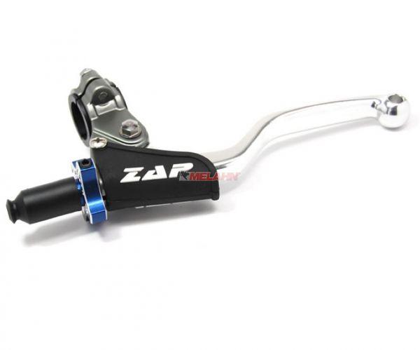 ZAP Kupplungs-Griff V2 komplett, blau/silber
