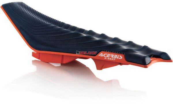 ACERBIS Sitzbank X-Seat hart, blau, SX 16-18 / EXC 17-19