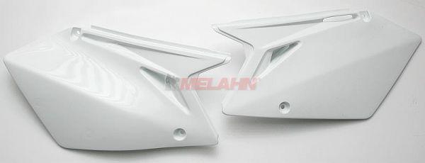 UFO Seitenteile (Paar) RMZ 450 2007, weiß
