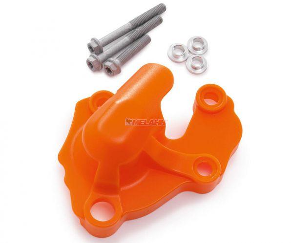 KTM Plastik-Wasserpumpendeckelschutz, orange