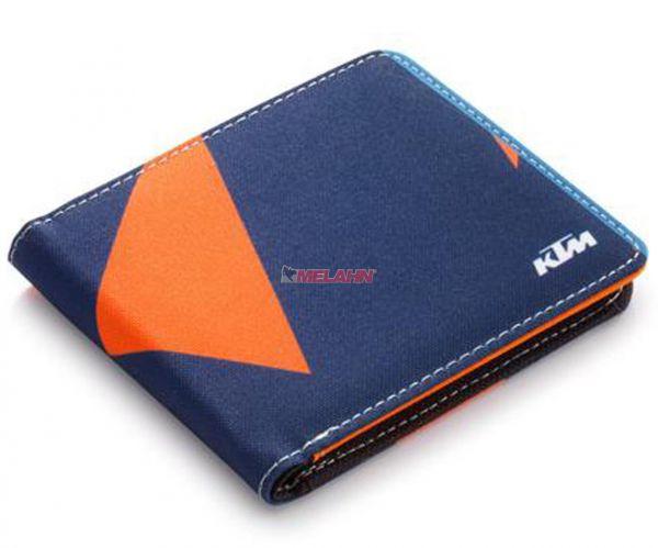KTM Geldbörse: Replica, blau/orange