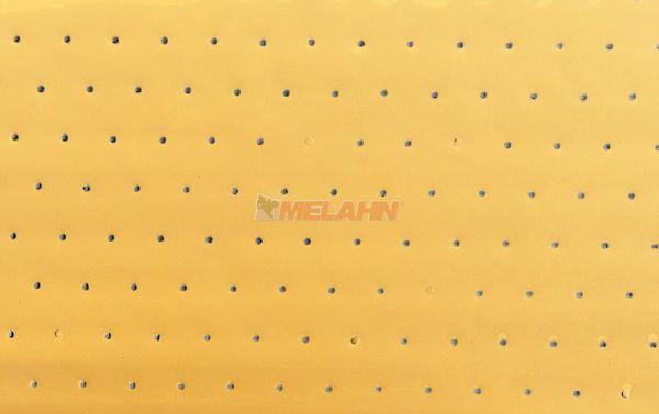 BLACKBIRD Tankfolie gelocht 47x33cm, gelb