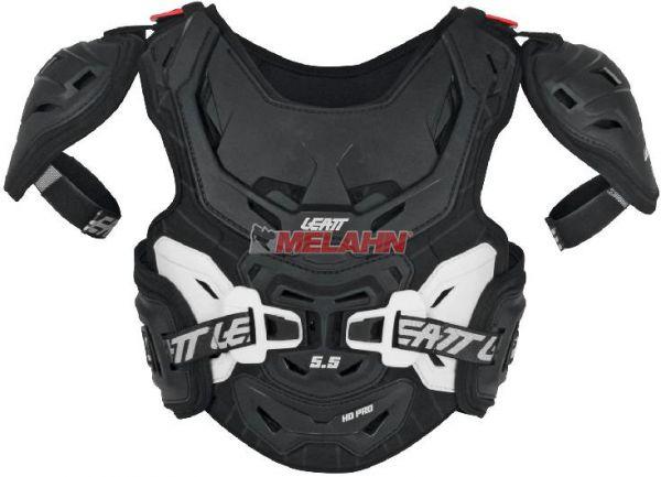 LEATT Kids Brustpanzer: 5.5 Pro HD, schwarz