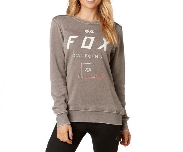 FOX Girls Pullover: Growled, grau
