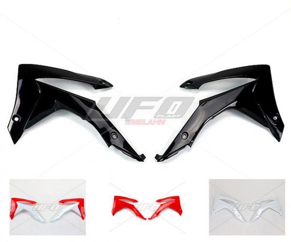 UFO Spoiler (Paar) Kühlerverkleidung CRF 250 14- / 450 13-16, schwarz