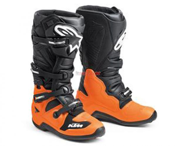 ALPINESTARS Stiefel: KTM Tech 7 EXC, schwarz/orange
