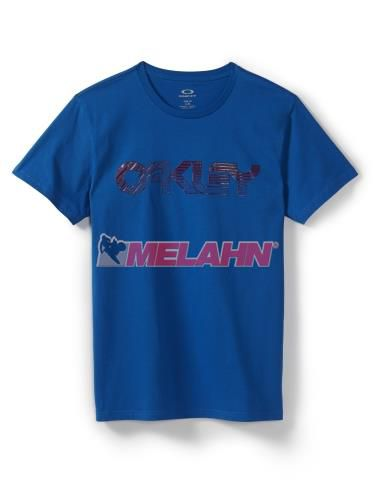 OAKLEY T-Shirt: Current Edition, blau