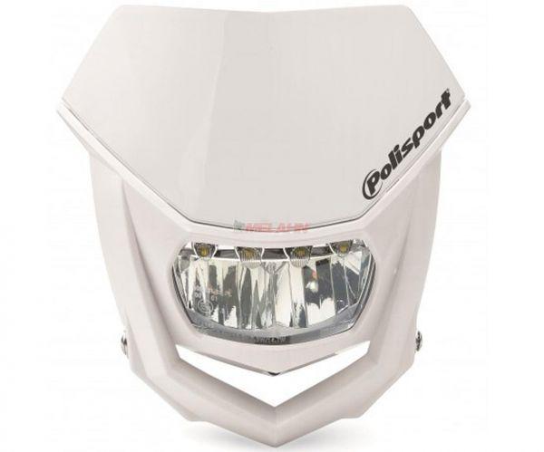 POLISPORT Lampenmaske: Halo LED, weiß/weiß