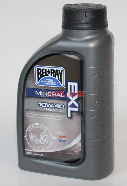 BEL RAY Motoröl 1l: EXL 10W-40, 4-Takt (Getriebeöl für 2-Takt)