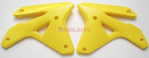 UFO Spoiler (Paar), Kühlerverkleidung RMZ 450 2007, gelb2001