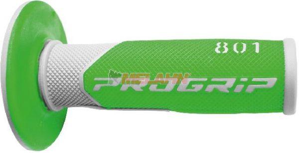 PROGRIP Griff (Paar): 801 Half-Waffle, grün