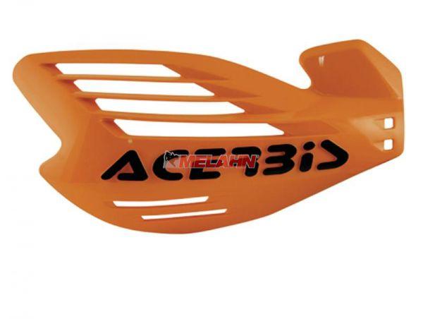 ACERBIS Handprotektor (Paar): X-Force, orange