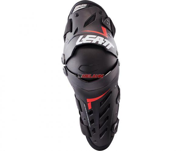 LEATT Knie- und Schienbeinprotektor (Paar): Dual Axis, schwarz