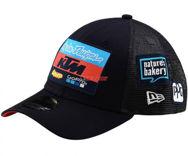 TROY LEE DESIGNS Snapback: KTM Team Curve, navy