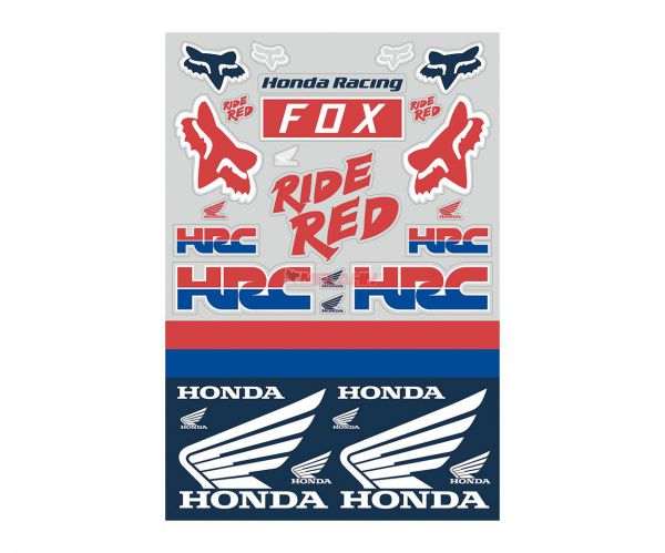 FOX Sticker Sheet: Honda