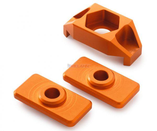 KTM Aluminium-Kettenspanner-Kit 50 SX 16-, orange