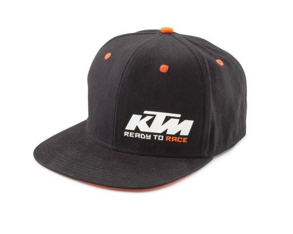 KTM Snapback-Cap: Team, schwarz/orange