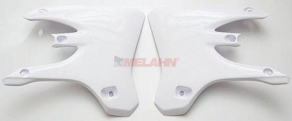 UFO Spoiler (Paar) WR 250/450 05-06, YZF 250/450 03-05, weiß
