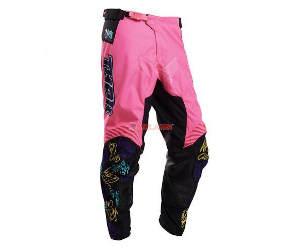 THOR Hose: Pulse Fast Boyz, pink/multi