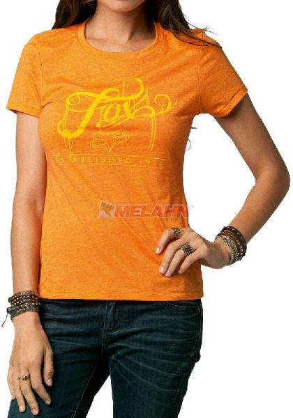 FOX Girls T-Shirt: Ink Crew, orange
