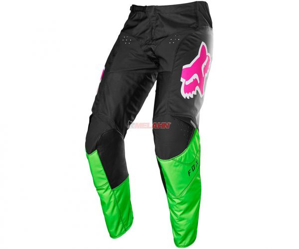 FOX Hose: 180 FYCE, schwarz/grün/pink