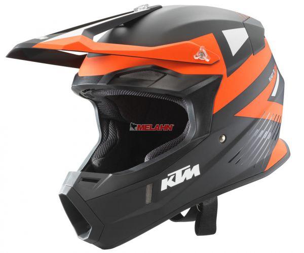 KTM Helm: Comp Light, schwarz/orange