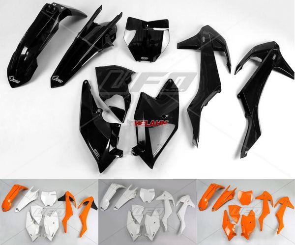 UFO Plastik-Kit KTM SX 16-18 (außer 250 2T 16), orange98