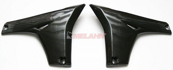 UFO Spoiler (Paar) Kühlerverkleidung unten YZF 450 10-13, schwarz