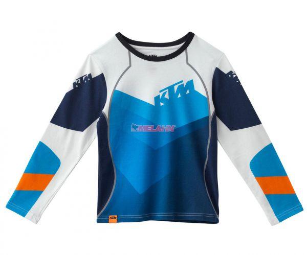 KTM Kids Pyjama: Gravity, blau/weiß