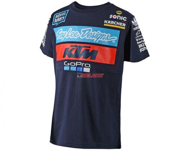 TROY LEE DESIGNS T-Shirt: KTM Team, navy