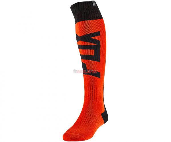 FOX Socke (Paar): FRI Thick FYCE, orange/schwarz
