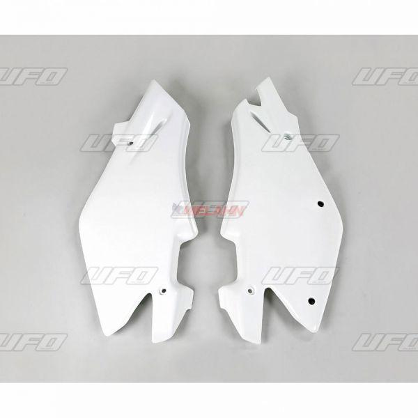UFO Seitenteile (Paar) HVA CR 125/250 05, WR 125/250 2005, weiß