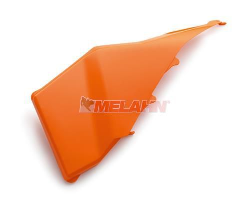 KTM Filterkastendeckel (links) SX 07-10 / EXC/SMR 08-11, orange