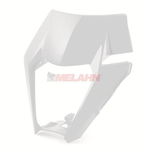KTM Lampenmaske Freeride 18-, weiß