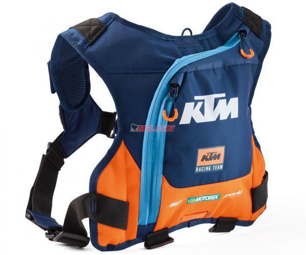 KTM Trinkrucksack: Team Erzberg Hydration, blau/orange