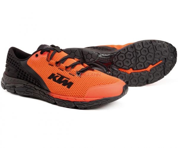 KTM Schuh: Corporate, orange/schwarz
