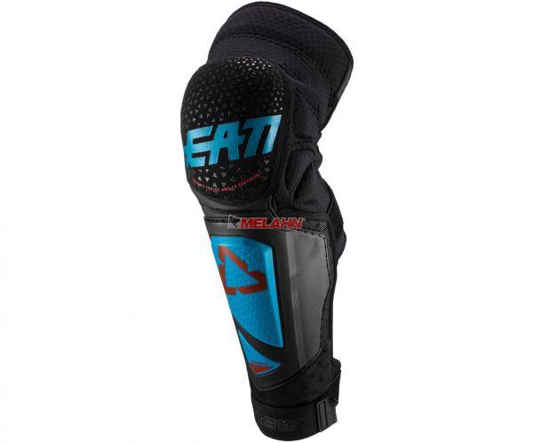 LEATT Knieprotektor (Paar): Hybrid EXT, schwarz/blau