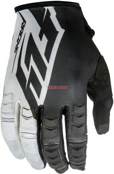 FLY Handschuh: Kinetic, schwarz/weiß